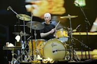 <p>Charlie Watts of The Rolling Stones perfoms at The O2 Arena on November 29, 2012 in London, England.</p>