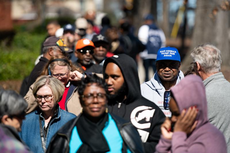 Black voters make up roughly two-thirds of registered Democrats in South Carolina. (Photo: Sean Rayford via Getty Images)