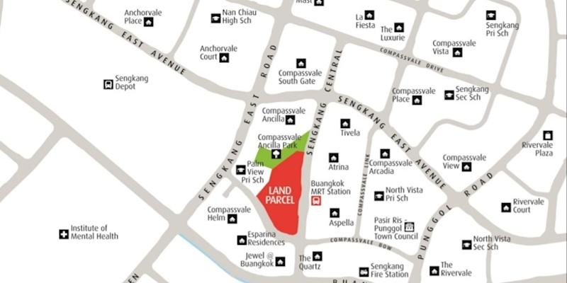 <p><img/></p>The tender for a residential and commercial site in Sengkang Central measuring approximately 401,008 sq ft closed on Thursday...