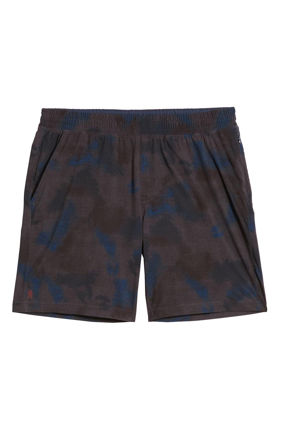 """<p><strong>RHONE</strong></p><p>nordstrom.com</p><p><a href=""""https://go.redirectingat.com?id=74968X1596630&url=https%3A%2F%2Fwww.nordstrom.com%2Fs%2Frhone-mako-athletic-shorts%2F5243535&sref=https%3A%2F%2Fwww.menshealth.com%2Fstyle%2Fg33510339%2Fnordstrom-anniversary-sale-2020%2F"""" rel=""""nofollow noopener"""" target=""""_blank"""" data-ylk=""""slk:BUY IT HERE"""" class=""""link rapid-noclick-resp"""">BUY IT HERE</a></p><p><del><strong>$68</strong></del> <strong>$42.90 (37% off)</strong></p><p>Now here's a pair of shorts that will transition nicely from your couch to a virtual workout class.</p>"""
