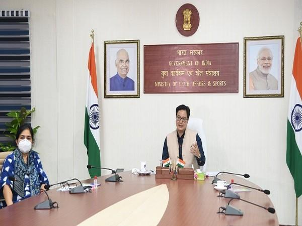 Union Youth Affairs and Sports Minister Kiren Rijiju (Image: Kiren Rijiju 's Twitter)