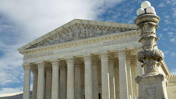 PHOTO: The Supreme Court building stands in Washington, Jan. 27, 2020. (Mark Tenally/AP, FILE)