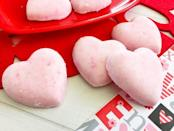 "<p>These luxurious bath bombs double as a fun science lesson and a great Valentine's gift. Citric acid, baking soda, and coconut oil are the simple key ingredients.</p><p><em><a href=""https://www.thebestideasforkids.com/heart-bath-bombs/"" rel=""nofollow noopener"" target=""_blank"" data-ylk=""slk:Get the how-to at The Best Ideas for Kids»"" class=""link rapid-noclick-resp"">Get the how-to at The Best Ideas for Kids»</a></em><br></p>"