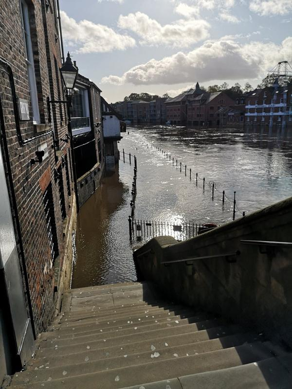 The Environment Agency said there will be travel disruption in the affected areas and some individual properties will flood. (PA)