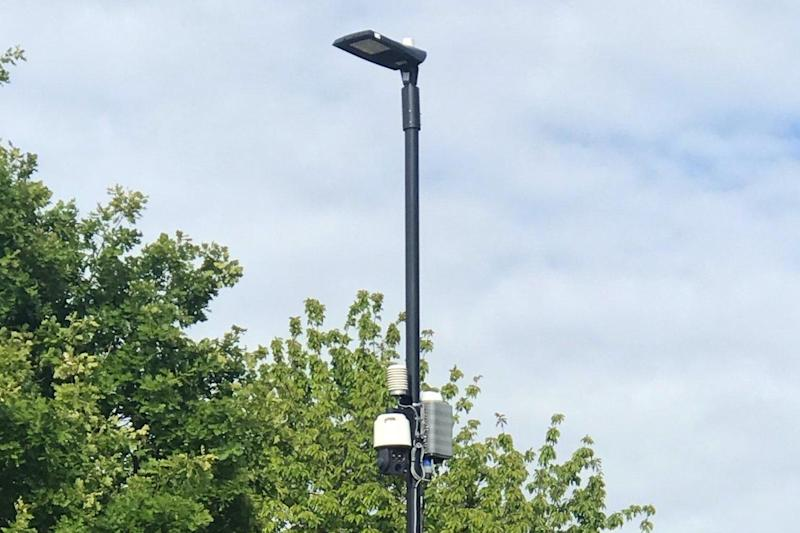 Council rolls out £4.5m 'smart' cameras to monitor toxic air and trigger vehicle fines