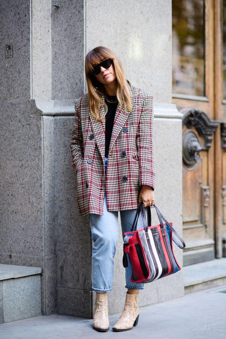 <p>Top off a menswear blazer and boyfriend jeans with textured ankle boots that add dimension. This season, we're feeling snakeskin for a break from our go-to black boots. <strong><br></strong></p>