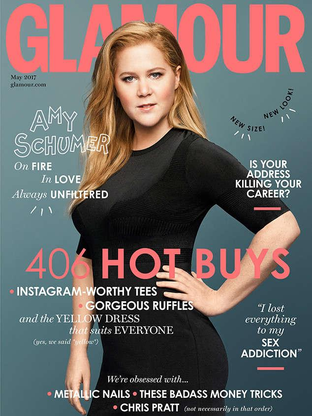 Amy Schumer strikes a pose for Glamour U.K. (Photo: British Glamour)