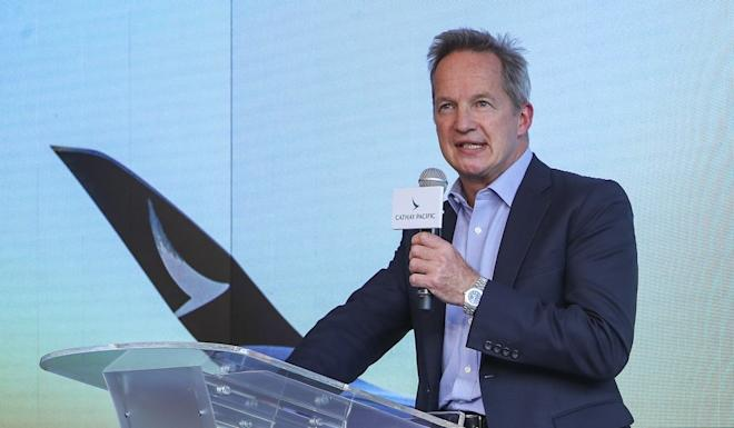 Rupert Hogg resigned as CEO of Cathay Pacific Airways in August. Photo: Sam Tsang
