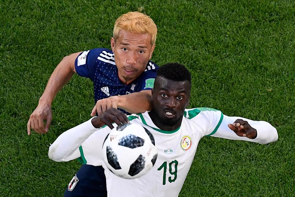 Senegal and Japan are neck and neck in Group H at the 2018 World Cup. (Getty)