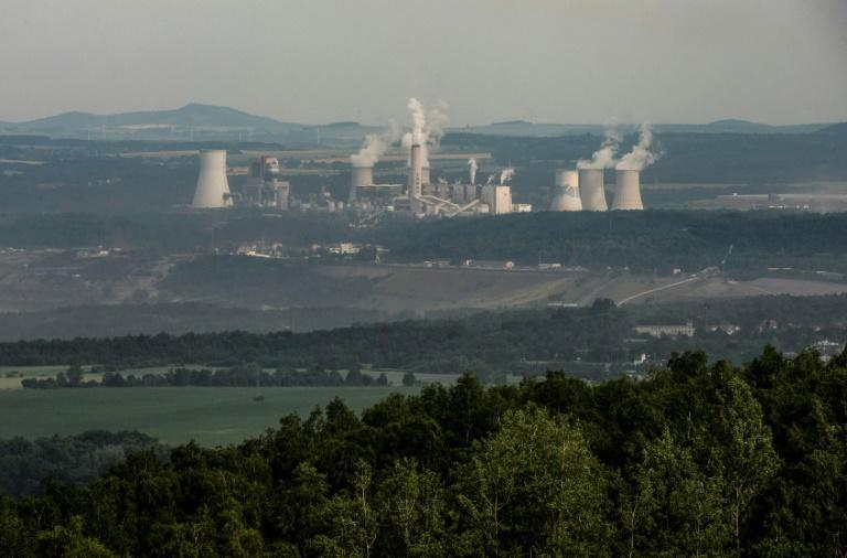 The Polish power plant at Turow and open-cast coal mine beside it are blamed for falling water levels in nearby villages in the Czech Republic