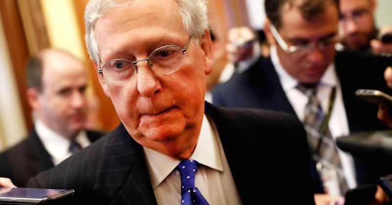 Mitch McConnell says Roy Moore 'should step aside'