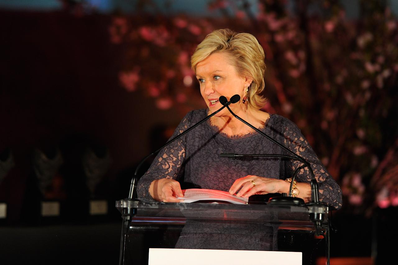 NEW YORK, NY - MARCH 09:  Tina Brown speaks onstage at the 3rd annual Diane Von Furstenberg awards at the United Nations on March 9, 2012 in New York City.  (Photo by Andrew H. Walker/Getty Images)