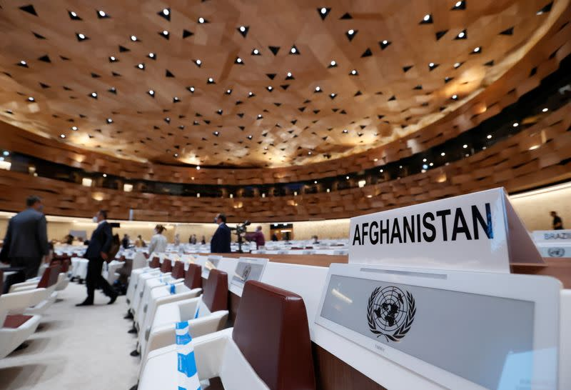 Aid conference for Afghanistan at United Nations in Geneva