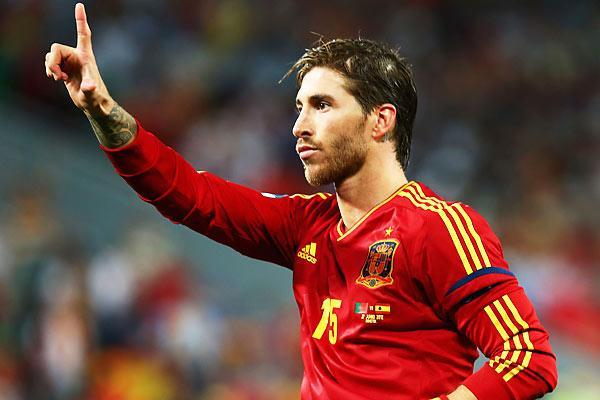 Sergio Ramos. Getty Images