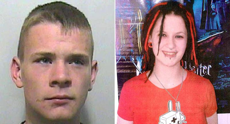 Ryan Herbert, left, murdered Sophie Lancaster in 2007 (Pictures: PA)