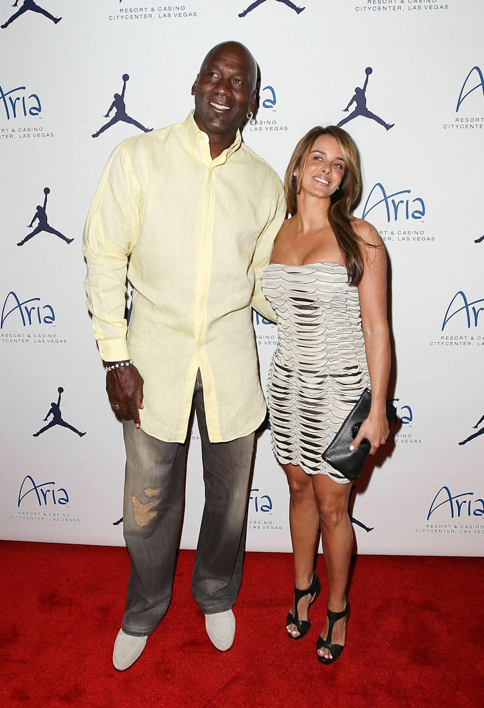 **File Photos** Michael Jordan has announced that he is engaged to his longtime girlfriend Yvette Prieto Michael Jordan and Yvette Prieto Michael Jordan Celebrity Invitational Welcome Reception at Haze night club at Aria Las Vegas, Nevada - 31.03.11 Mandatory Credit: Judy Eddy/WENN.com