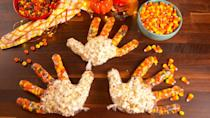 "<p>Is there any combination better for a fall movie marathon than Reese's pieces and popcorn? I think not. </p><p>Get the recipe from <a href=""https://www.delish.com/cooking/recipe-ideas/recipes/a56648/turkey-treat-bags-recipe/"" rel=""nofollow noopener"" target=""_blank"" data-ylk=""slk:Delish"" class=""link rapid-noclick-resp"">Delish</a>.</p><p><a class=""link rapid-noclick-resp"" href=""https://www.amazon.com/Disposable-Food-Prep-Gloves-Transparent/dp/B07PJ8WKML/?tag=syn-yahoo-20&ascsubtag=%5Bartid%7C1782.g.33808794%5Bsrc%7Cyahoo-us"" rel=""nofollow noopener"" target=""_blank"" data-ylk=""slk:BUY NOW"">BUY NOW</a> <em><strong>Clear gloves, $10.45 </strong></em></p>"