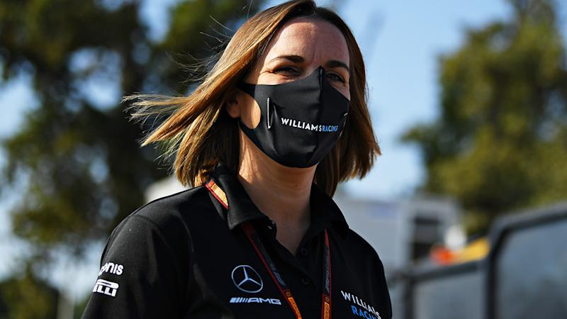 Williams Racing's deputy team principal Claire Williams has announced she and her father, team principal Frank, will step down from running the historic F1 team. (Photo by Clive Mason - Formula 1/Formula 1 via Getty Images)