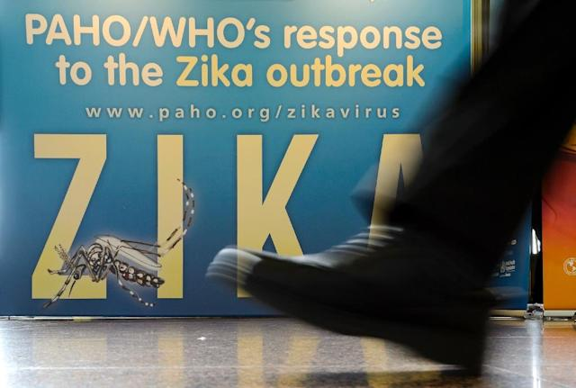 Zika, a virus typically carried by mosquitos, was first detected in El Salvador in November and 10,476 cases of infection have been recorded (AFP Photo/Fabrice Coffrini)