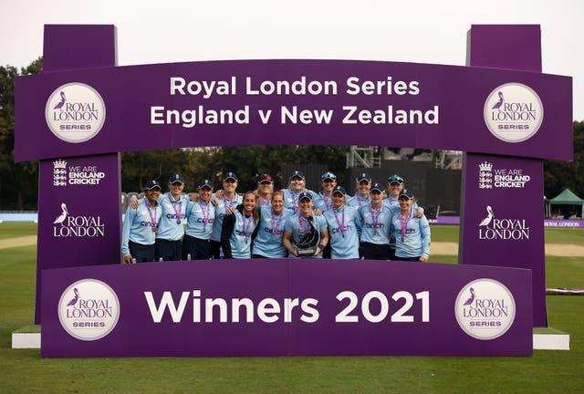 England claimed a 4-1 one day international series win over New Zealand