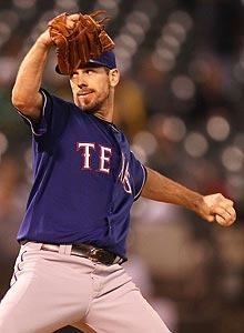 Rangers ace Cliff Lee has never pitched on three days rest in his nine-year career