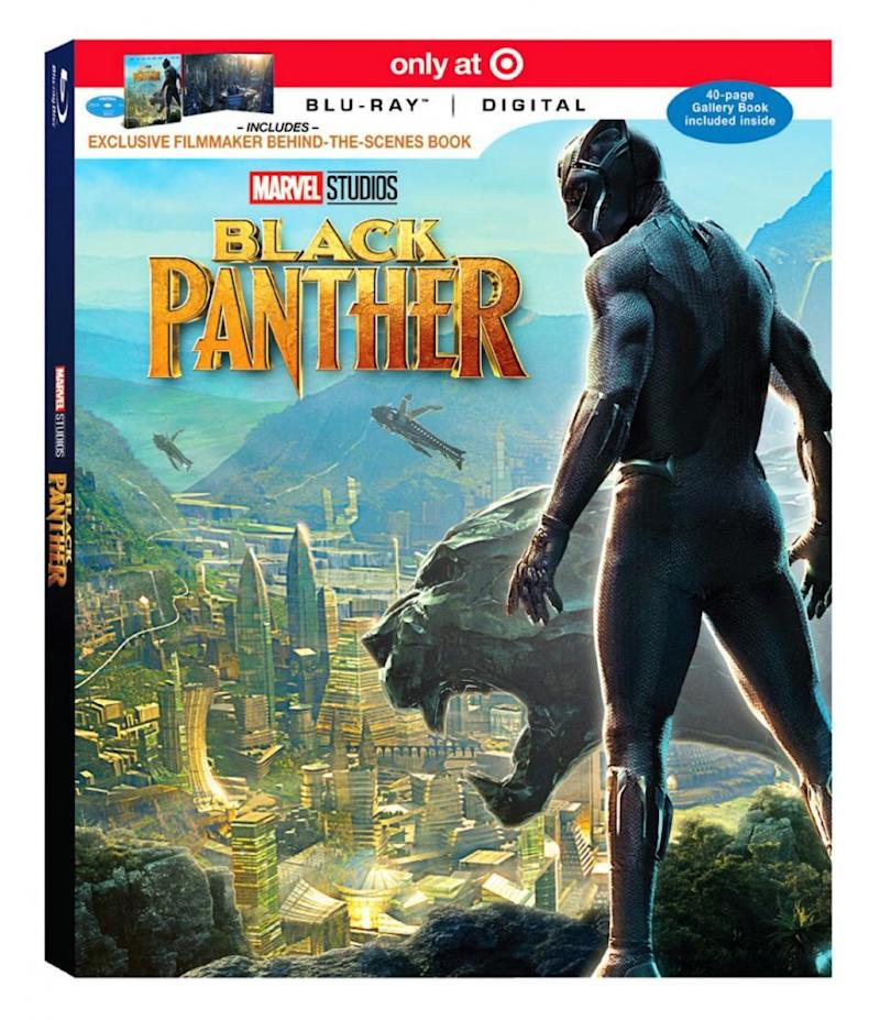 black panther dvd release