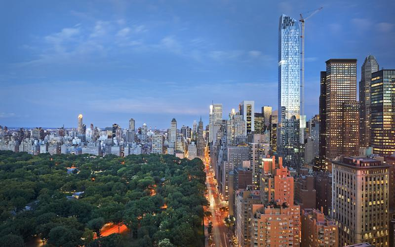 The Mandarin Oriental, set on floors 35 to 54 of the north tower of the Time Warner Center, has spectacular views of Central Park
