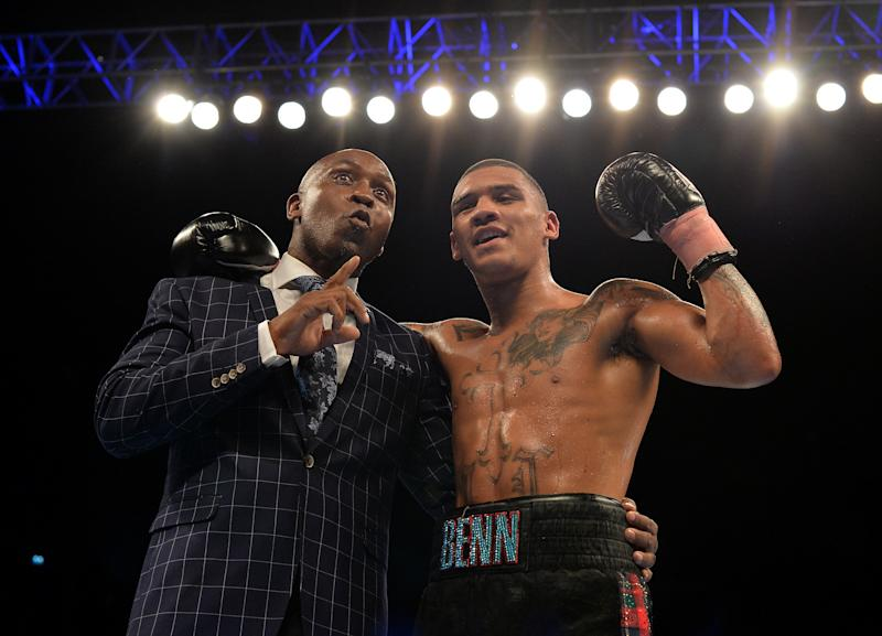 Conor Benn, Nigel's son, is also a professional boxer. (Credit: Getty Images)