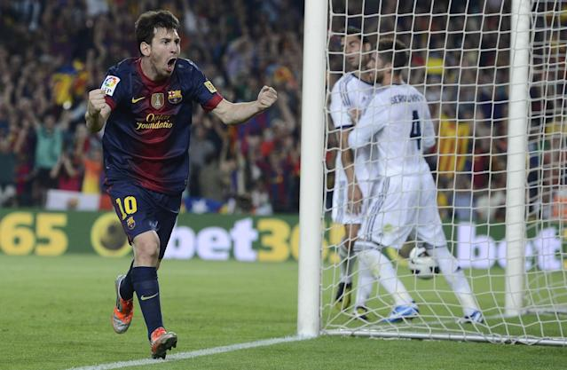 <p>His 91 total goals are the most ever in a calendar year, including 74 for Barcelona (most club goals ever in a calendar year), and 12 for Argentina (tied for most by an Argentine in a year). He also added five goals in friendlies. </p>