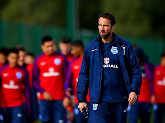 Time for action: Gareth Southgate names his 23-man selection for Russia on Wednesday