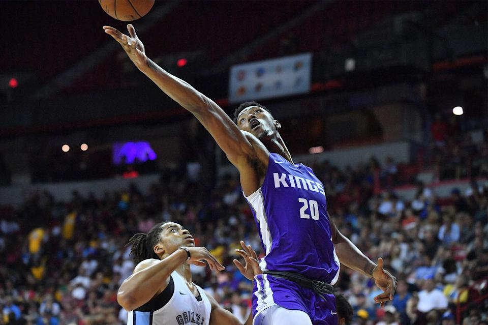 Harry Giles will finally see the floor after sitting out the entire 2017-18 season rehabbing his right knee. (Getty)