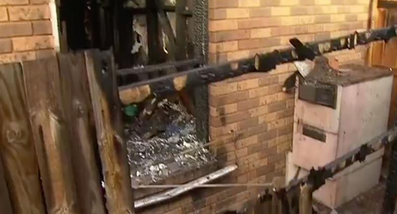 Four-year-old Aceson Villa accidentally lit his family home in Epping on fire after putting a piece of paper near the stove. Source: 7 News