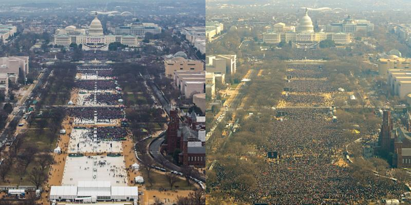 Photo credit: Left: National Park Service / Right: Getty Images