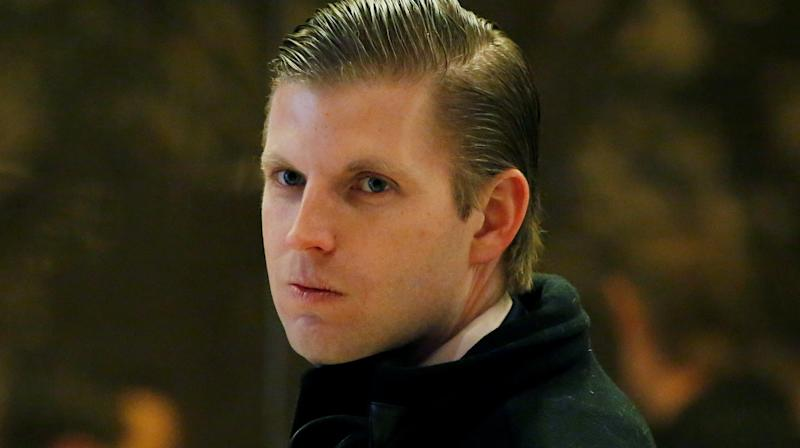 Eric Trump Accused Of Anti-Semitism For Bob Woodward 'Shekels' Criticism