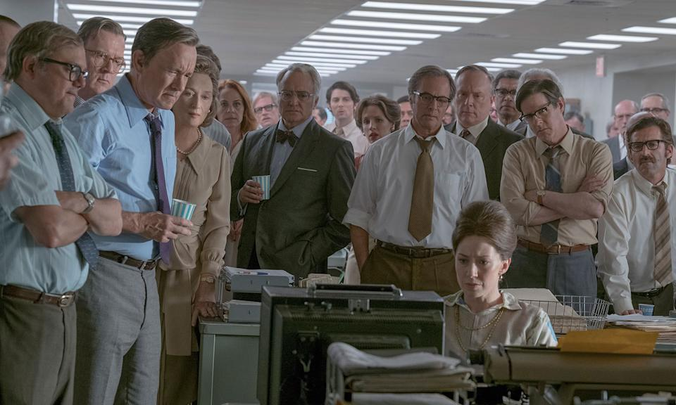 The Post features an all-star cast. (Universal Pictures)