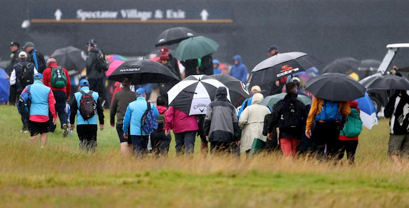 British Open 2019: Brutal Sunday weather forecast at Portrush causes R&A to push up tee times