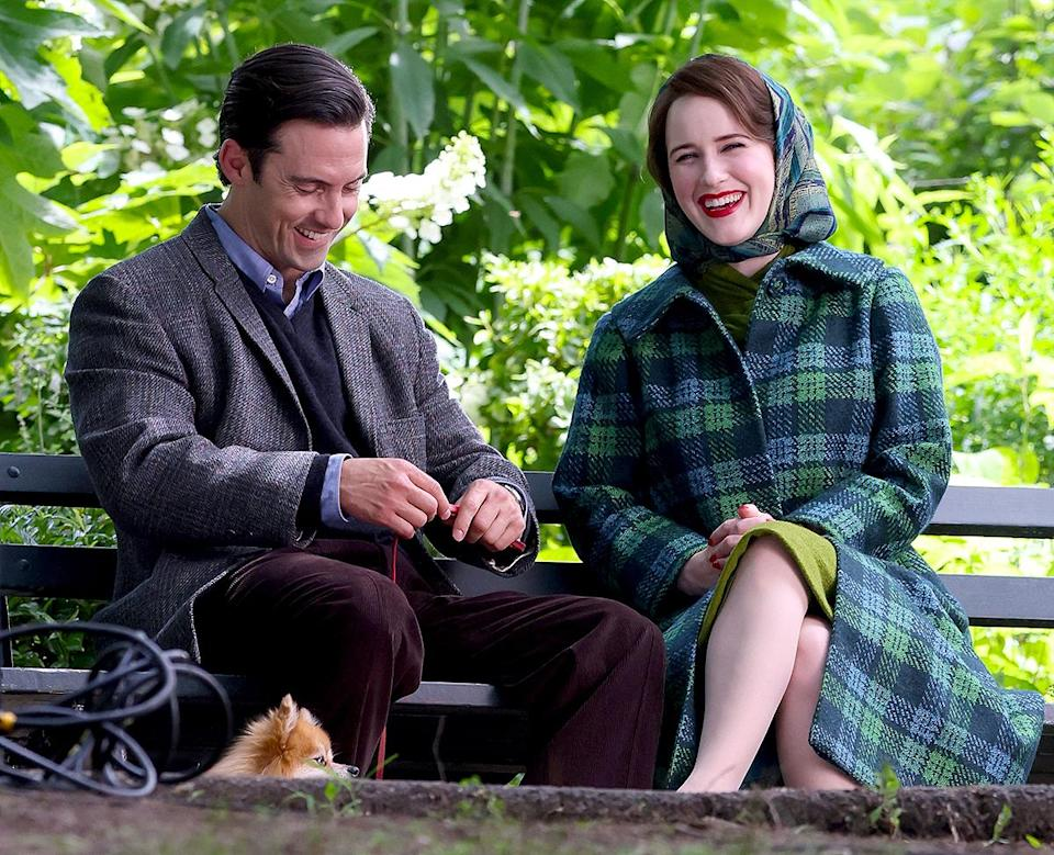 <p>Fun fact! Ventimiglia previously worked with series creator Amy Sherman-Palladino and executive producer Daniel Palladino on <em>Gilmore Girls.</em></p>