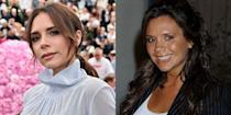 """<p>Since her days as Posh Spice, Victoria Beckham has perfected an irreverent pout in front of photographers. """"I'm smiling on the inside. I feel that I have a responsibility to the fashion community,"""" Beckham revealed to <em><a href=""""https://www.vogue.com/vogueworld/article/victoria-beckham-posh-casual-fridays-business-meeting"""" rel=""""nofollow noopener"""" target=""""_blank"""" data-ylk=""""slk:Vogue"""" class=""""link rapid-noclick-resp"""">Vogue</a> </em>about why she's serious on the red carpet.</p>"""