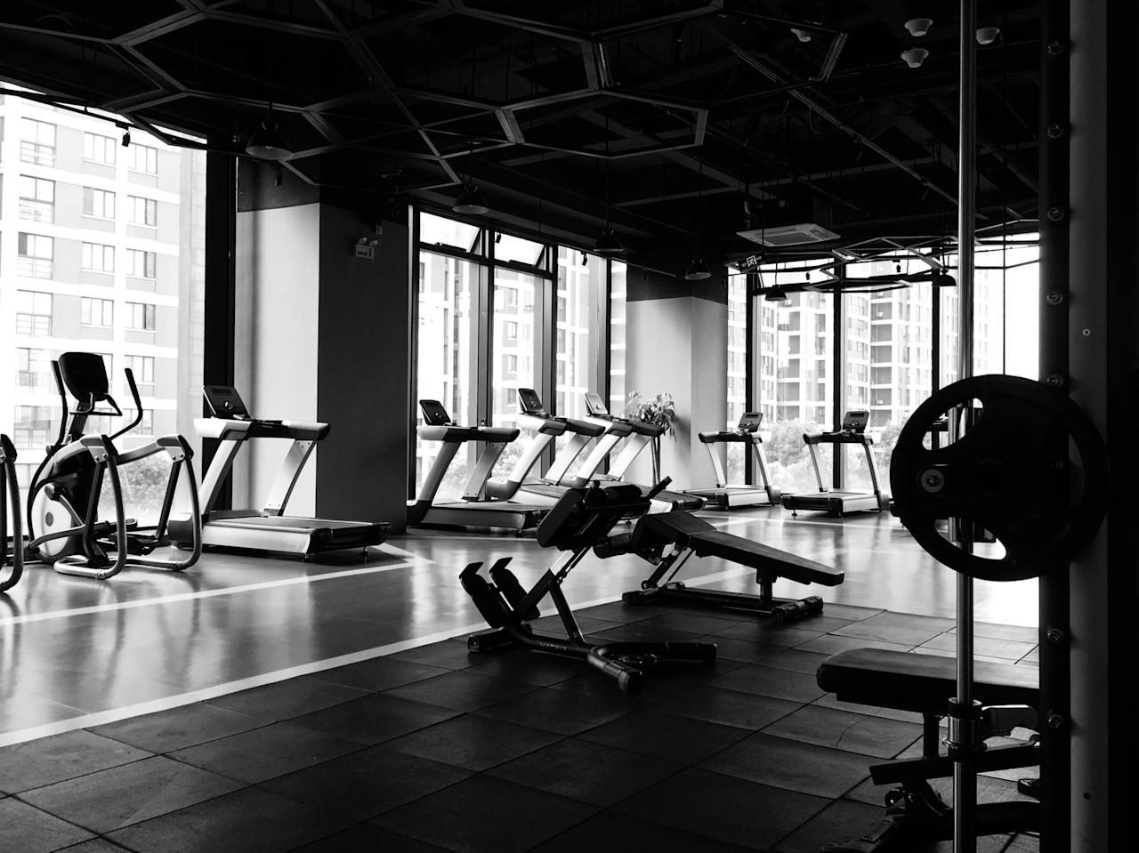 """<p>Many hotel gyms will likely remain closed, but just in case they aren't, you should still exercise outside if you can. """"If you have the opportunity to be outside, that's always preferable,"""" said Rogers. """"If the weather is nice, ask the hotel ahead of time about popular hiking trails or go swimming at the beach instead.""""</p>"""