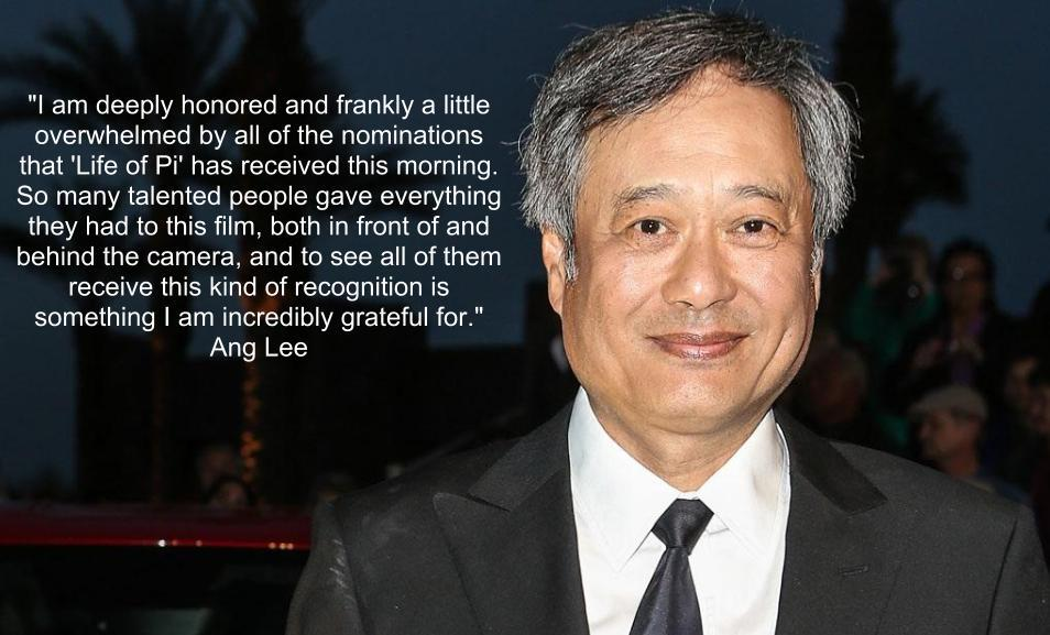 "Ang Lee, ""Life of Pi"""