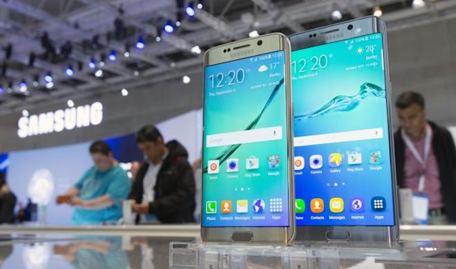 Samsung Galaxy S6 edge seen at the IFA in Berlin