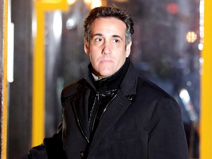 Donald Trump's former personal lawyer Michael Cohen has accused the president of a pattern of inappropriate behaviour towards women. (Photo courtesy Reuters/Amir Levy) (REUTERS/Amir Levy)