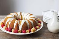 """<p>As if this deliciously moist cake made with lemon doesn't look exquisite enough, it's also made with extra virgin olive oil (and is grain-free and gluten-free!).</p><p><em><a href=""""http://acalculatedwhisk.com/lemon-olive-oil-cake/"""" rel=""""nofollow noopener"""" target=""""_blank"""" data-ylk=""""slk:Get the recipe from A Calculated Whisk »"""" class=""""link rapid-noclick-resp"""">Get the recipe from A Calculated Whisk »</a></em></p>"""