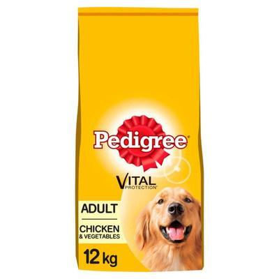 PEDIGREE® Adult Complete Dry Dog Food with Chicken and Vegetables (12kg) (PRNewsfoto/Mars Petcare UK)