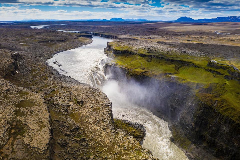 Dettifoss is Europe's most powerful waterfall (Visit Iceland)