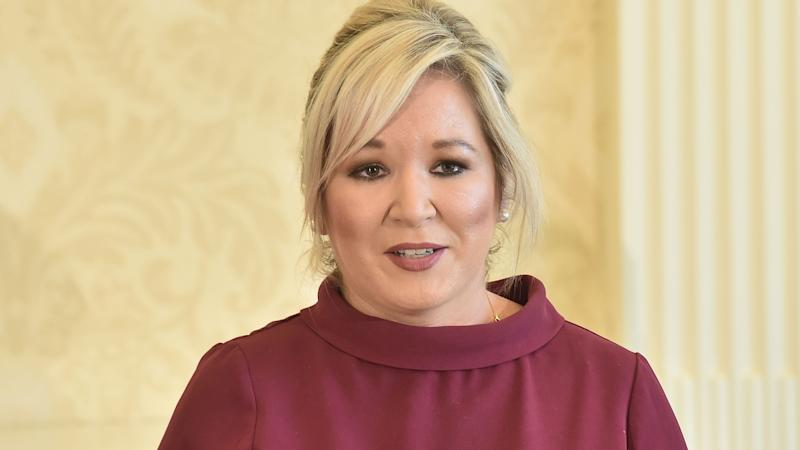Michelle O'Neill in tears over alleged threat to cancer patient's treatment