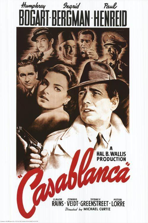 "<p>""Here's looking at you, kid."" </p><p><em>—Casablanca </em>(1942)</p>"