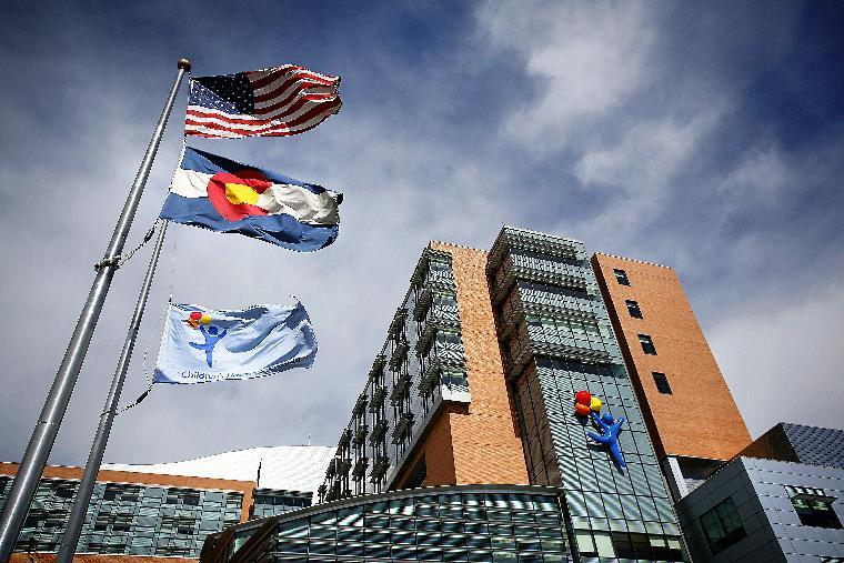 Physicians at the Children's Hospital Colorado have examined 12 cases of sick youngsters who had been admitted over a three-month period (AFP Photo/Marc Piscotty)