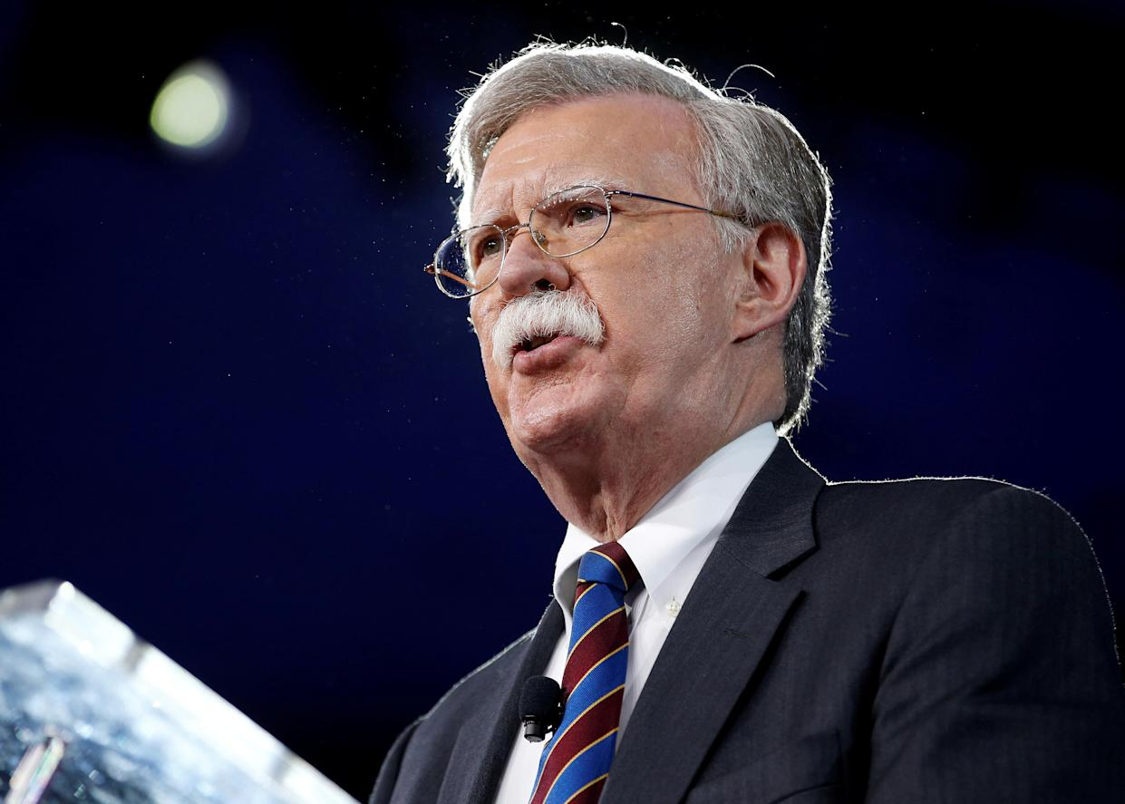 Former U.S. Ambassador to the United Nations John Bolton speaks at the Conservative Political Action Conference (CPAC) in Oxon Hill, Md., Feb. 24, 2017. (Photo: Joshua Roberts/Reuters)