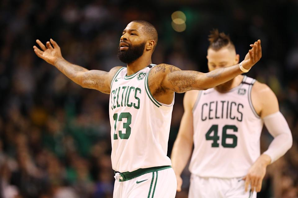 The Boston Celtics dominated on Sunday afternoon, cruising to a 25-point win against the Cleveland Cavaliers in Game 1 of the Eastern Conference Finals. (Getty Images)